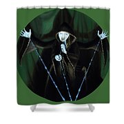 The Taker Shower Curtain by Shelley Irish