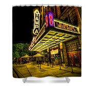 The Tampa Theater Shower Curtain by Marvin Spates