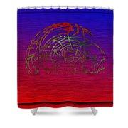 The Transformation Shower Curtain by Tim Allen