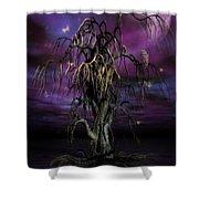 The Tree Of Sawols Shower Curtain by John Edwards