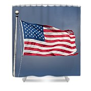 The United States Of America Shower Curtain by Benjamin Reed