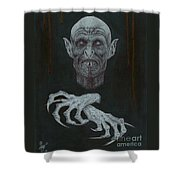The Vampire Shower Curtain by Wave