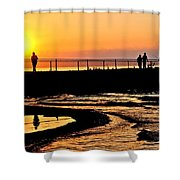 The Weekend Shower Curtain by Frozen in Time Fine Art Photography