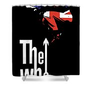 The Who No.01 Shower Curtain by Caio Caldas