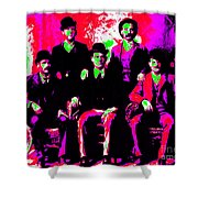 The Wild Bunch 20130212 Shower Curtain by Wingsdomain Art and Photography
