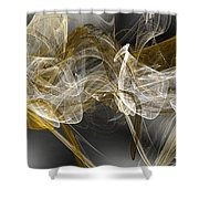 The Wind Shower Curtain by Andee Design