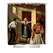 Then You Die Together Shower Curtain by Terry Reynoldson