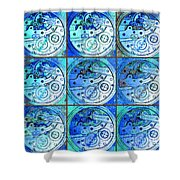 There Is Never Enough Time 20130606cool82 Shower Curtain by Wingsdomain Art and Photography