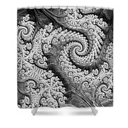 There's A Chill In The Air  Shower Curtain by Heidi Smith