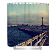 There's Always Tomorrow Shower Curtain by Laurie Search