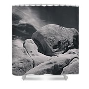 This Hole In My Heart Is For You Shower Curtain by Laurie Search