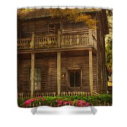 This Old House Shower Curtain by Kim Hojnacki