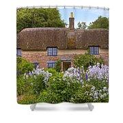 Thomas Hardy's cottage Shower Curtain by Joana Kruse