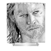 Thor Odinson Shower Curtain by Kayleigh Semeniuk