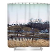 Thoroughbred Thoroughfares Shower Curtain by Paulette B Wright
