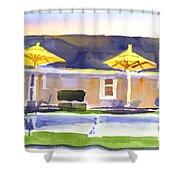 Three Amigos IIib Shower Curtain by Kip DeVore
