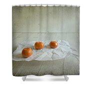 Three Shower Curtain by Veikko Suikkanen