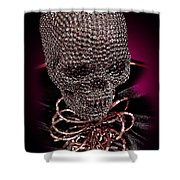 Thriller Shower Curtain by Xueling Zou