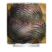 Thru The Maze Shower Curtain by Deborah Benoit