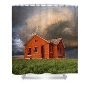 Thunderous Plains Shower Curtain by Jill Van Doren Rolo