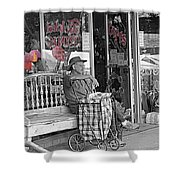 Tickled Pink Shower Curtain by Bartz Johnson