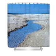 Tidal Pools Shower Curtain by Susan Leggett
