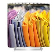 Ties I Shower Curtain by Paulette B Wright