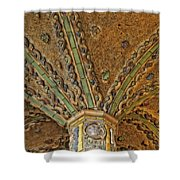 Tile Work Shower Curtain by Susan Candelario