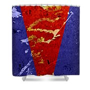 Time For A New Suit Shower Curtain by Fran Riley