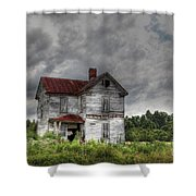 Time Stood Still Shower Curtain by Benanne Stiens