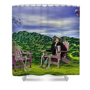 Time To Call A Doctor Shower Curtain by Betsy C  Knapp