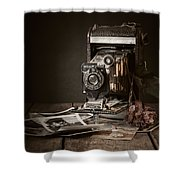 Timeless Shower Curtain by Amy Weiss