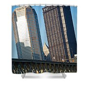 Timeless Old Attraction Shower Curtain by Jimmy Taaffe