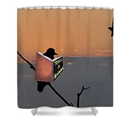 To Kill A Mockingbird Shower Curtain by Bill Cannon