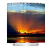 TODAY is FOREVER LOST TOMORROW Shower Curtain by KAREN WILES