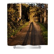 Together Shower Curtain by John Daly