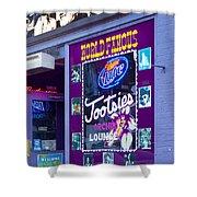 Tootsies Nashville Shower Curtain by Brian Jannsen
