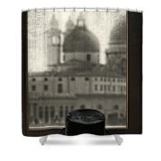 Top Hat Shower Curtain by Joana Kruse