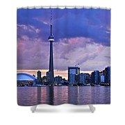 Toronto Skyline Shower Curtain by Elena Elisseeva