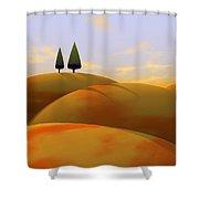 Toscana 1 Shower Curtain by Cynthia Decker