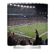 Touchdown Patriots Nation Shower Curtain by Juergen Roth