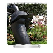 Tour de France Shower Curtain by FRANCE  ART