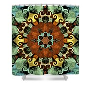 Tourlidou S01-01 Shower Curtain by Variance Collections
