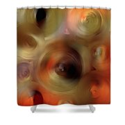 Transcendent - Abstract Art By Sharon Cummings  Shower Curtain by Sharon Cummings