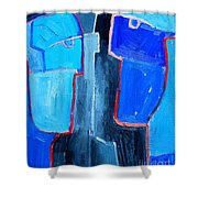Translucent Togetherness Shower Curtain by Ana Maria Edulescu