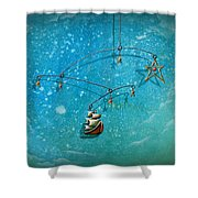 Treasure Hunter Shower Curtain by Cindy Thornton