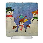 Tres Chic Shower Curtain by Mary Ellen Mueller Legault