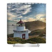Trinidad Light Shower Curtain by Adam Jewell