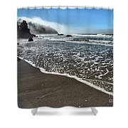 Trinidad Textures Shower Curtain by Adam Jewell