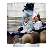 Trooping The Colour 2012 Shower Curtain by Dutourdumonde Photography